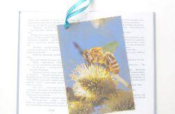 Eko zakładka do książki z pszczółka nr 2