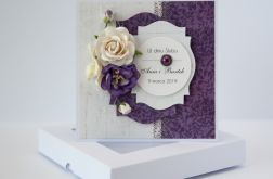 Kartka ślubna z personalizacją + pudełko 9