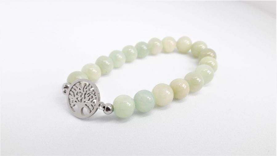Bransoletka drzewo życia z jadeitu