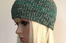 Melanż kolorów - śliczna czapeczka