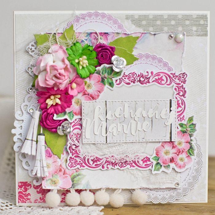 Dzień Matki - kartka okolicznościowa DM04