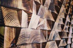 Drewniany panel ścienny mozaika 3D CLASSIC