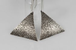Piasek - srebrne kolczyki 191119-06
