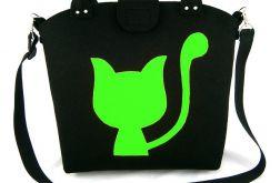Big green cat/strap