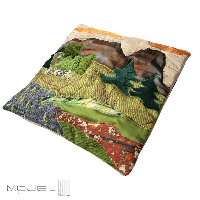 Giewont w kwiatach III - patchwork