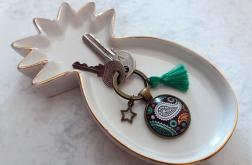 Brelok do kluczy wzór orientalny - Fabricate