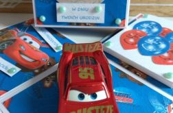 Exploding box, Zygzak Mcqueen, cars. Urodziny