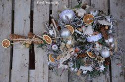 wianek Bożonarodzeniowy srebrny