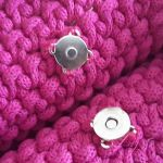 Torebka ze sznurka bawełnianego shopperka - w środku magnes