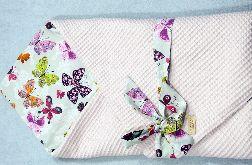 Rożek niemowlęcy kolorowe motyle