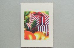 Kartka świąteczna - prezent 2
