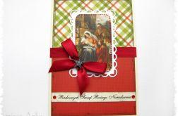 Kartka świąteczna ze Świętą Rodziną