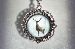 Medalion Jeleń 3 - Deer - zdobiony