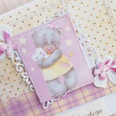Kartka na Chrzest Daddy's Princess GOTOWA