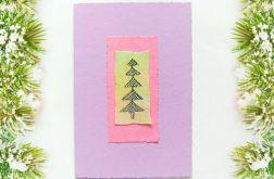 Kartka świąteczna minimalizm 61