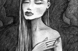 Ramię - oryginalny rysunek 0604