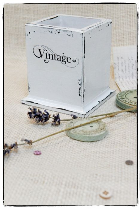 Przybornik na długopisy ~Vintage~ -