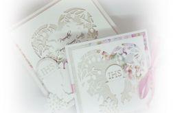 Karnet Komunia Święta w pudełku