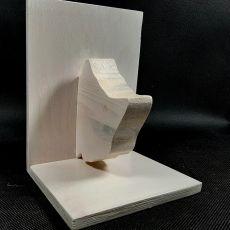 Podstawka pod książki – głowa kotka