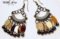 Orientalne w kolorze złota i miedzi