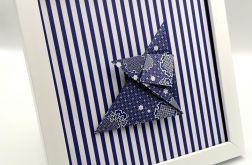 Obrazek origami wiszący lub stojący Lis