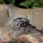 Kwiatowy II - pierścionek kwiatowy