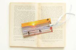 Zakładka do książki plaża 1
