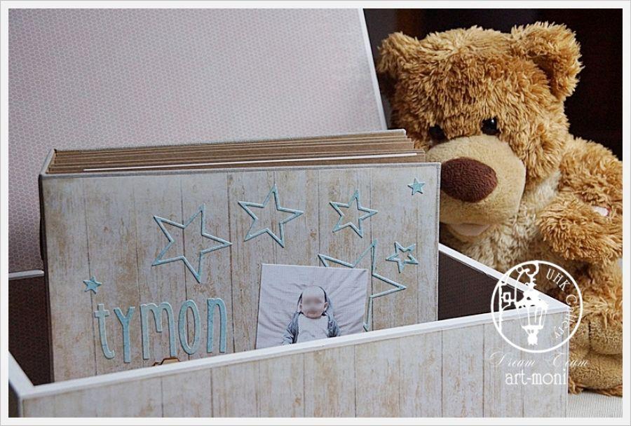 Pudełko wspomnień dla chłopca -