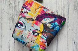 Kolorowa kosmetyczka graffiti