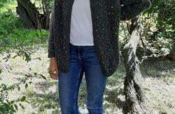 sweter z koralikami