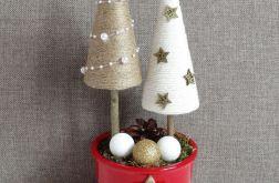 Stroik zimowy świąteczny