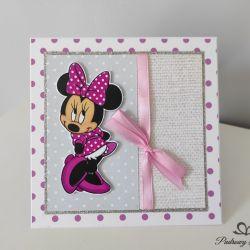 Kartka Roczek Urodziny Myszka Minnie
