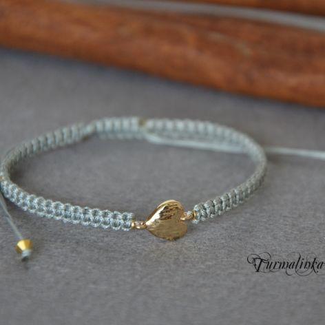 Bransoletka Friends - GOLD HEART