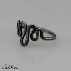 Srebrny pierścionek rozm. 15 - 190511-01