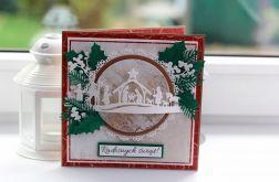 Kartka świąteczna w pudełku