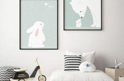 Plakaty pastelowe w stlu skandynawskim, A3