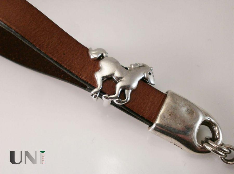 Koń - mini smycz do kluczy