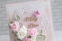 Ślubna - w różu i koronkach