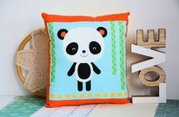 Poduszka dziecięca z misiem pandą
