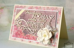 Romantyczna kartka vintage