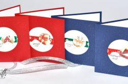 Komplet 4 kart świątecznych -1-