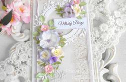 Ślubna kartka DL w pudełku 51