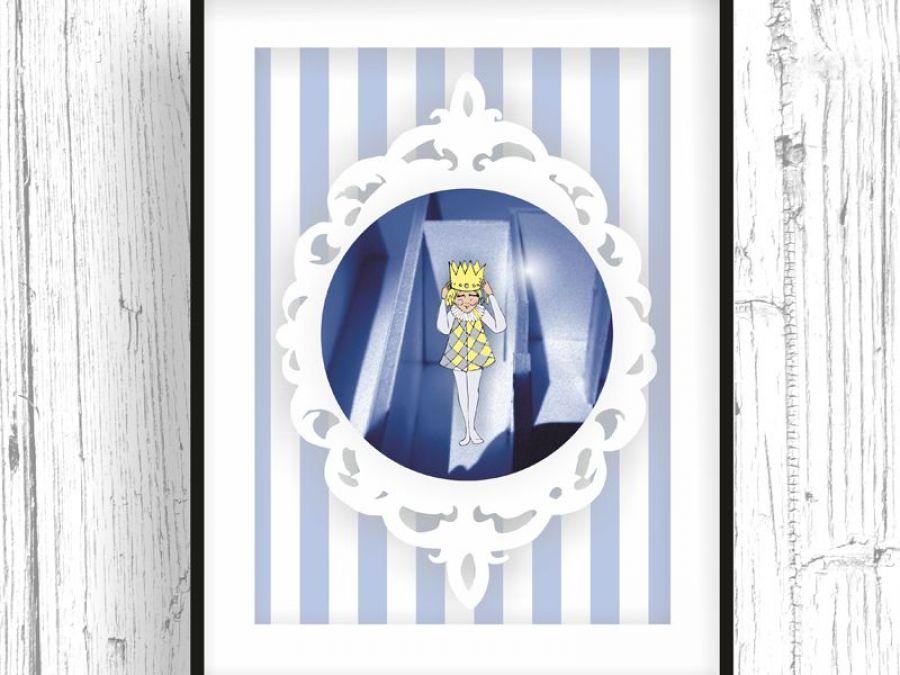 Mały Król... ilustracja dla dziecka -