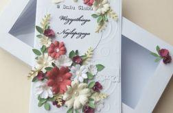 Ślubne Marzenie kartka z pudełkiem