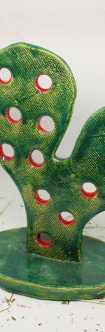 Figurka kaktus-OPUNCJA ręcznie robiona