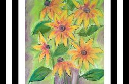 Kwiaty pastele
