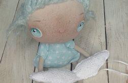 ANIOŁEK lalka tekstylna (OOAK), uglyAngel