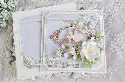 Ślubna kartka w pudełku 393