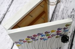 pudełko na klucze tulipankowe1