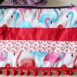 Flamingi saszetka